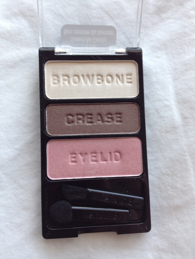 Don't eat the eyeshadow.