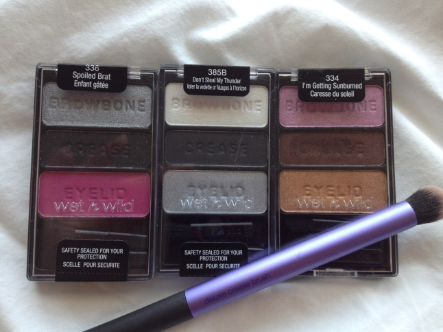 Wet N Wild Color Icon Trios: Part II- Trios With an Edge