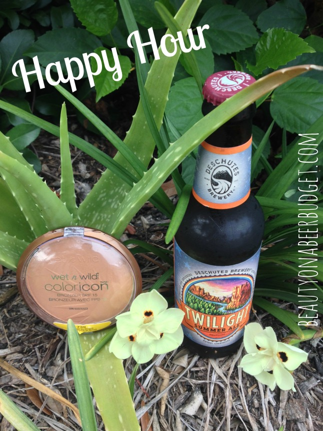 WetnWild Bronzer and Deschutes Twilight Summer Ale