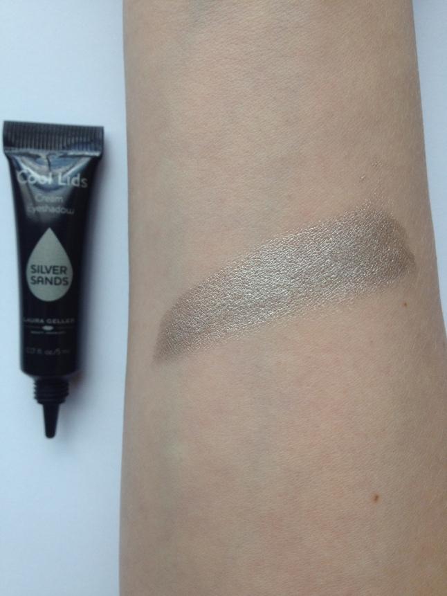 Laura Geller Beauty, Cool Lids Cream Eyeshadow in Silver Sands