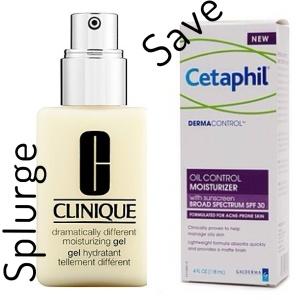 Clinique and Cetaphil Moistruzier