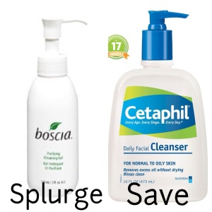 Boscia and Cetaphil