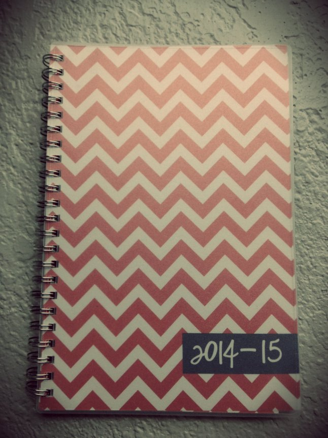 I'll be the talk of grad school with this planner.