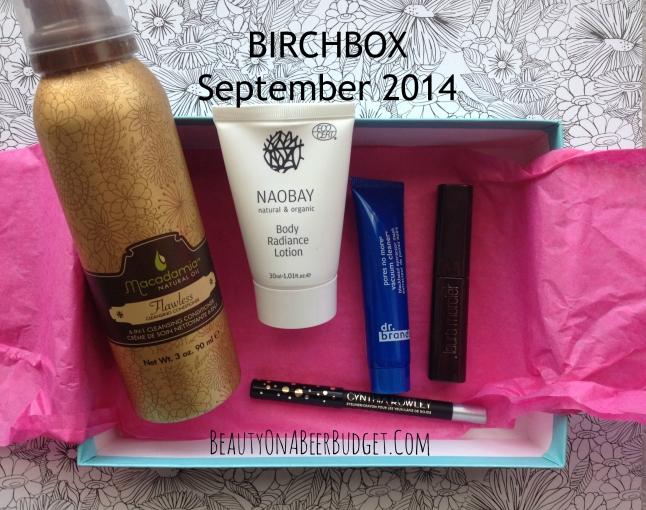 birchbox sept 2014