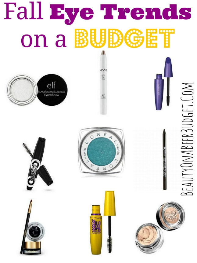 Fall eye trends on a budget