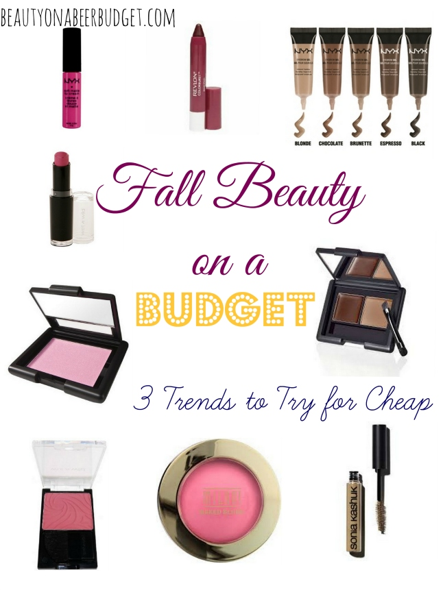 Fall Beauty on a Budget