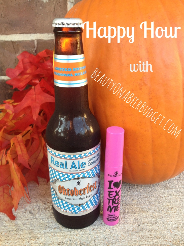 Happy Hour essence mascara real ale