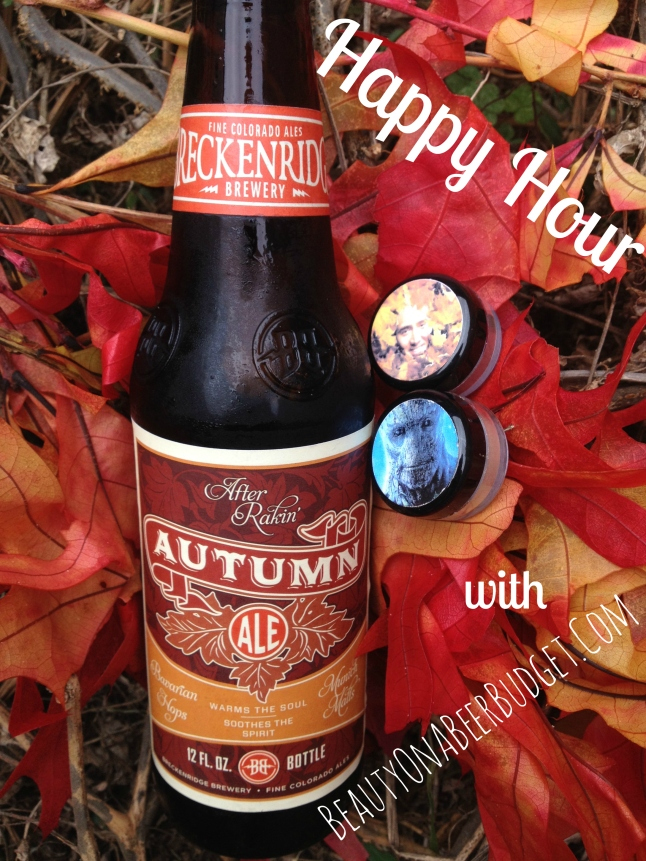 Happy Hour: Shiro Cosmetics and Breckenridge Autumn Ale
