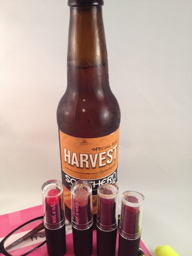 Wet N Wild Limited Edition and Harvest Ale
