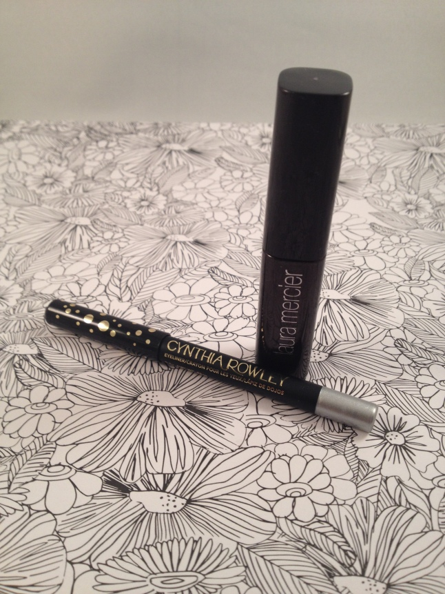 Cynthia Rowley Silver Eyeliner and Laura Mercier Full Blown Volume Supreme Mascara