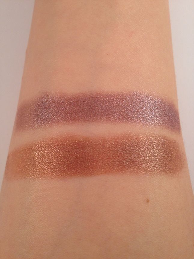 Top Swatch: Mikasa Toxic Love Bottom: Notoriously Morbid-Officer Friendly