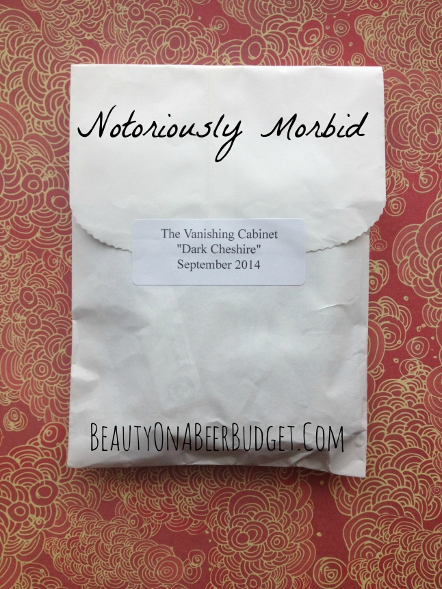 Notoriously Morbid Subscription: September 2014