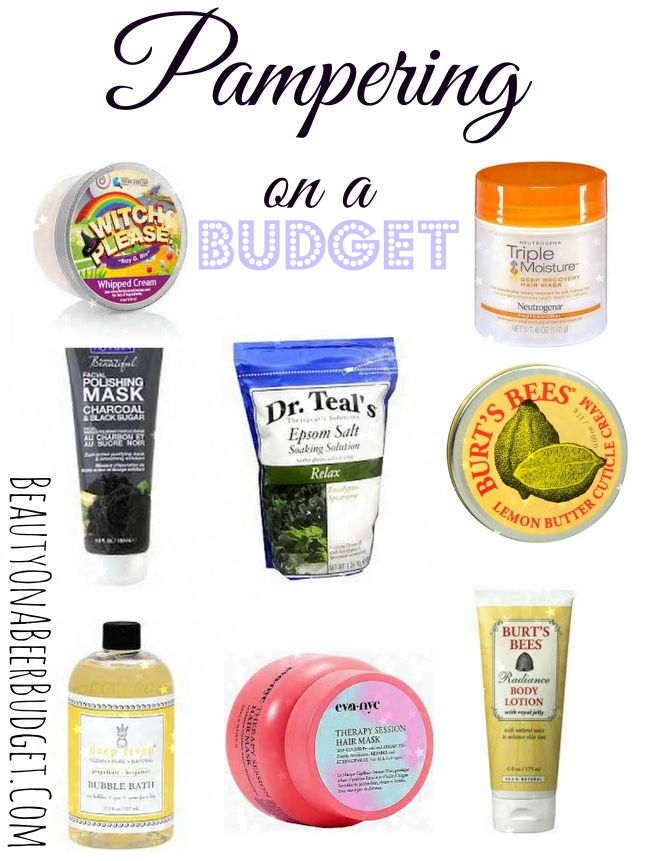Pampering on a Budget