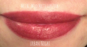 wetnwild urban night