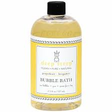Deep Steep Organic Bubble Bath, $8.