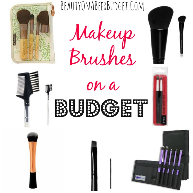 Makeup Brushes on a Budget