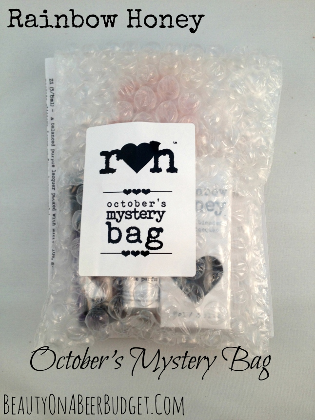 rainbow honey mystery bag october 2014