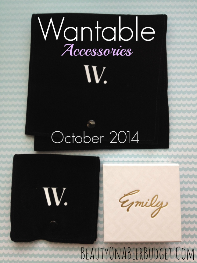 wantable accessories october 2014