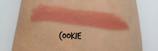 colourpop cookie swatch