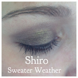 Shiro Sweater Weather