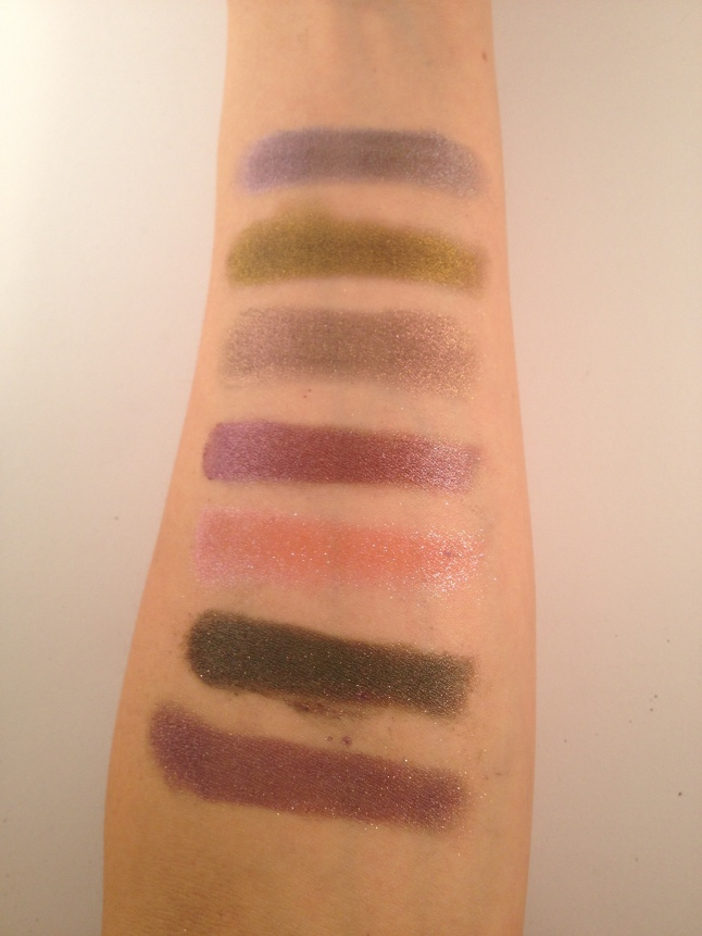 The bottom two are what happen when you don't swatch responsibly.