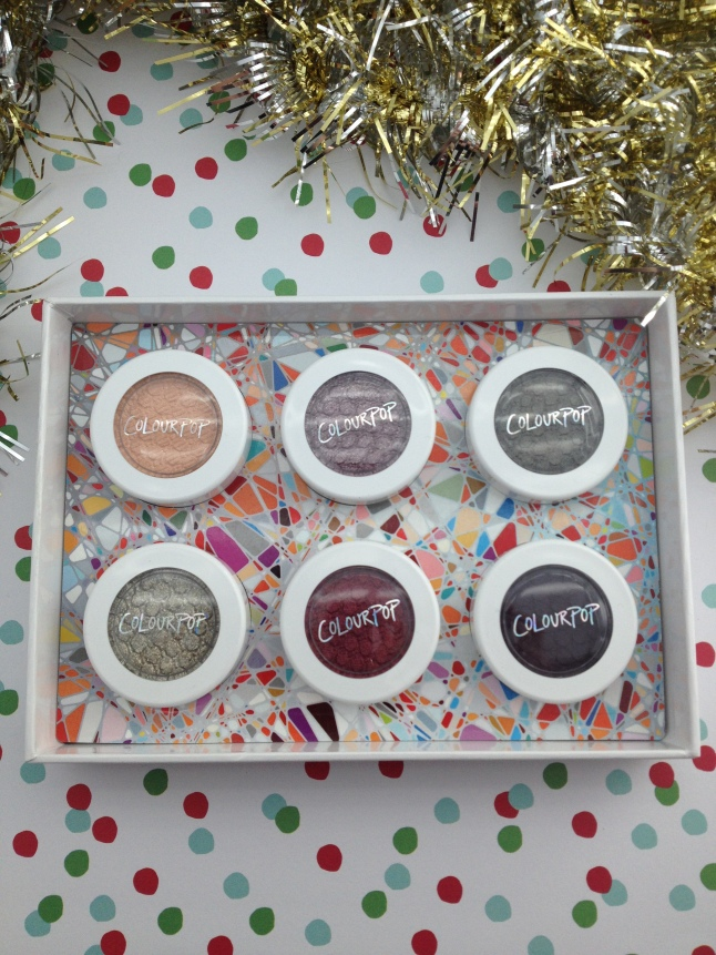 colourpop not a box of chocolates shades