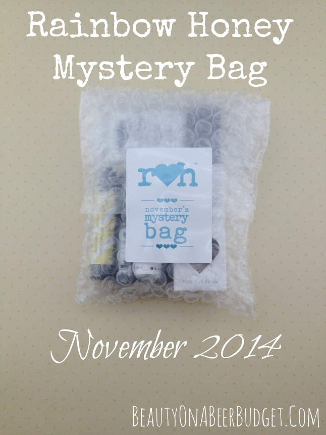 rainbow honey mystery bag november 2014