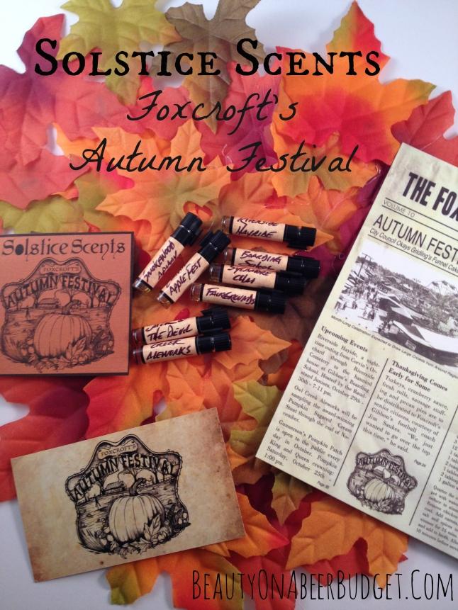solstice scents foxcroft autumn festival
