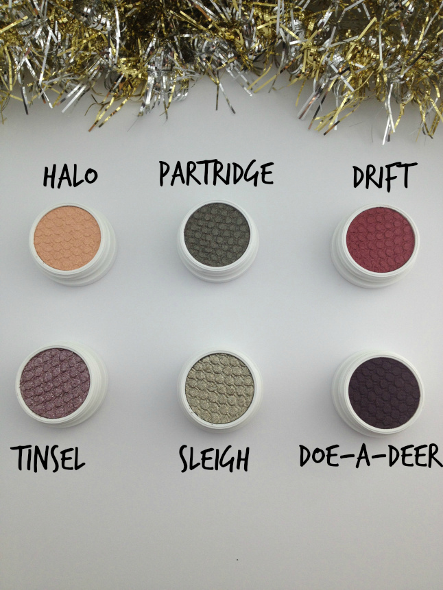 colourpop holiday collection not a box of chocolates