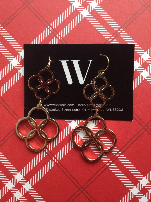 Sylvie Earrings, Retail: $14.00