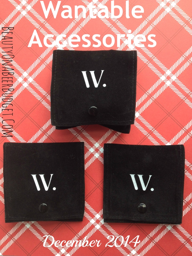 wantable December accessories