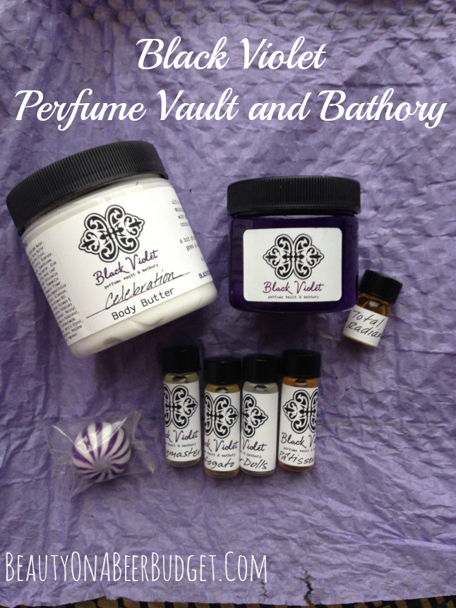 black violet perfume vault and bathory