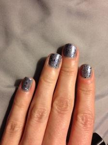 I never claimed to be good at nail polish. Or cuticles.