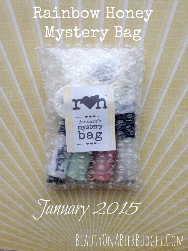 rainbow honey january mystery bag