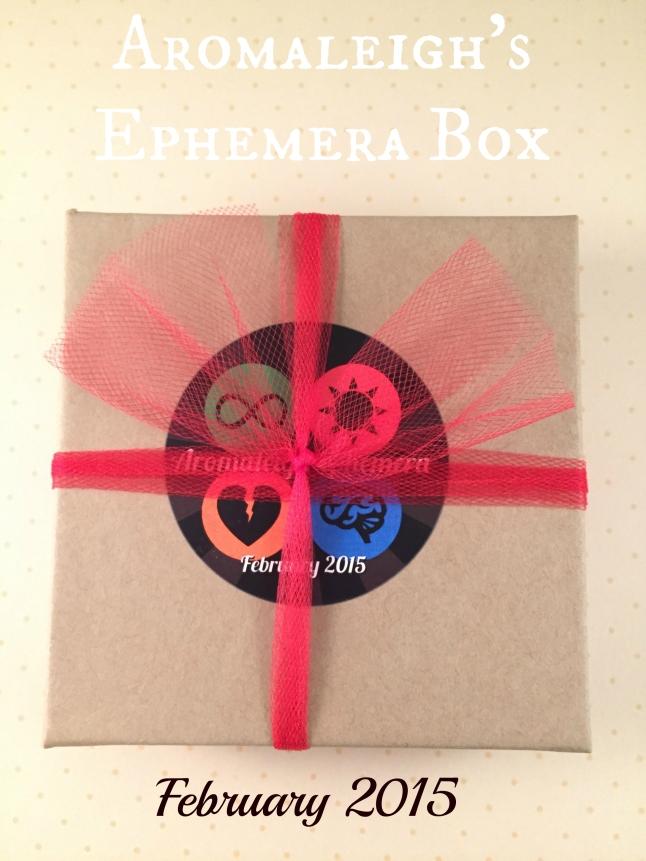 February Ephemera 2015
