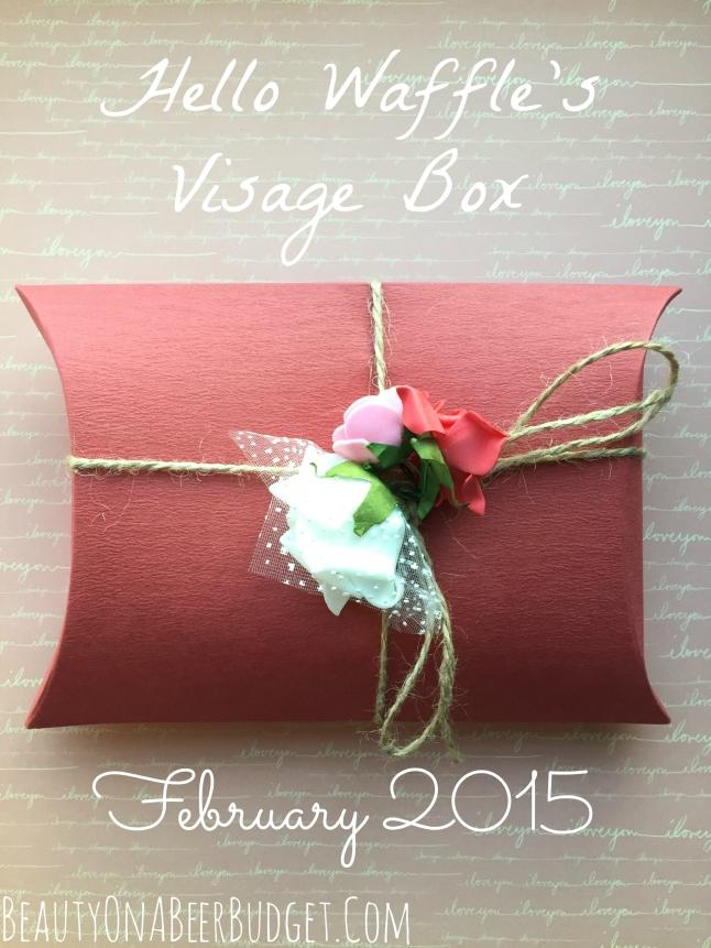 hello waffle's visage box february 2015