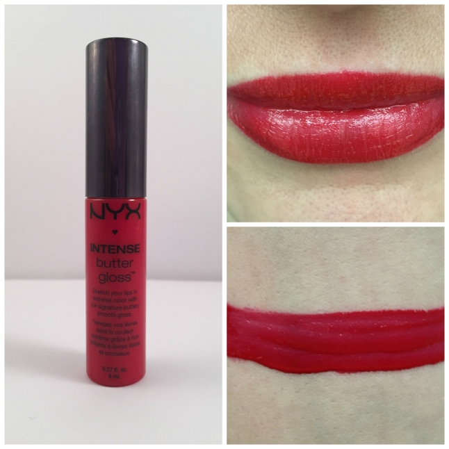 nyx apple crisp intense butter lipgloss