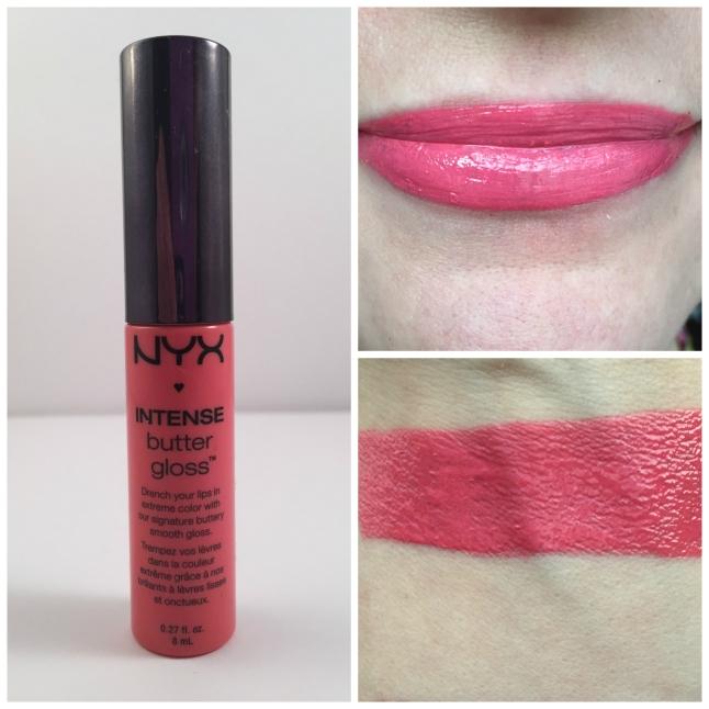 nyx napoleon intense butter lipgloss