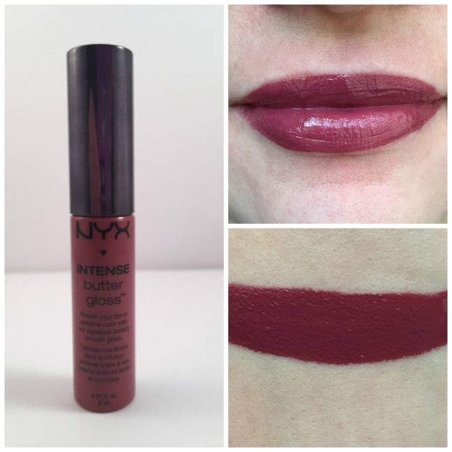 nyx toasted marshmallow intense butter lip gloss