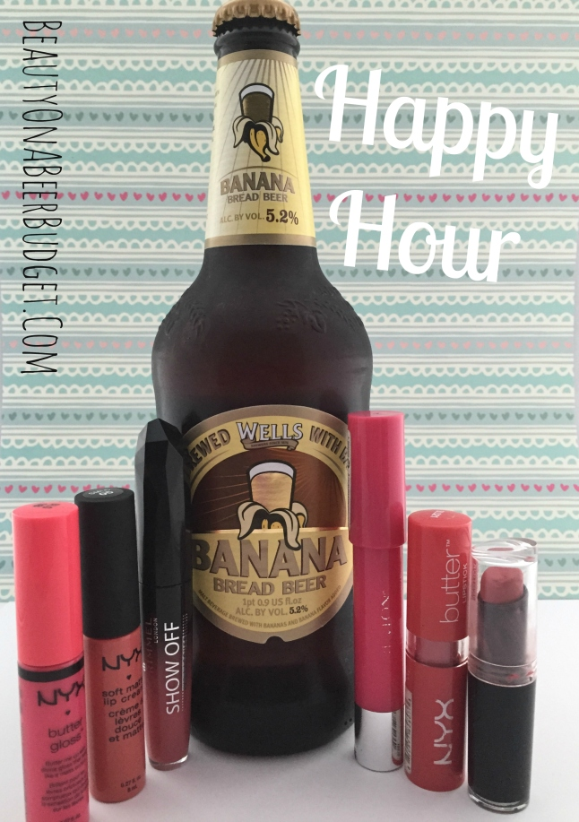pink lipstick and banana bread beer