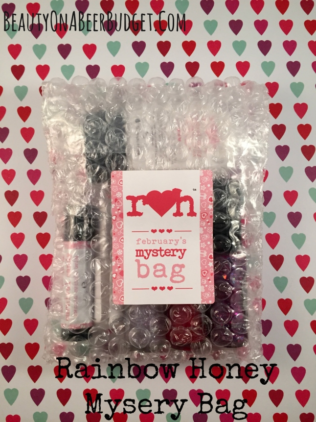 rainbow honey february mystery bag 2015