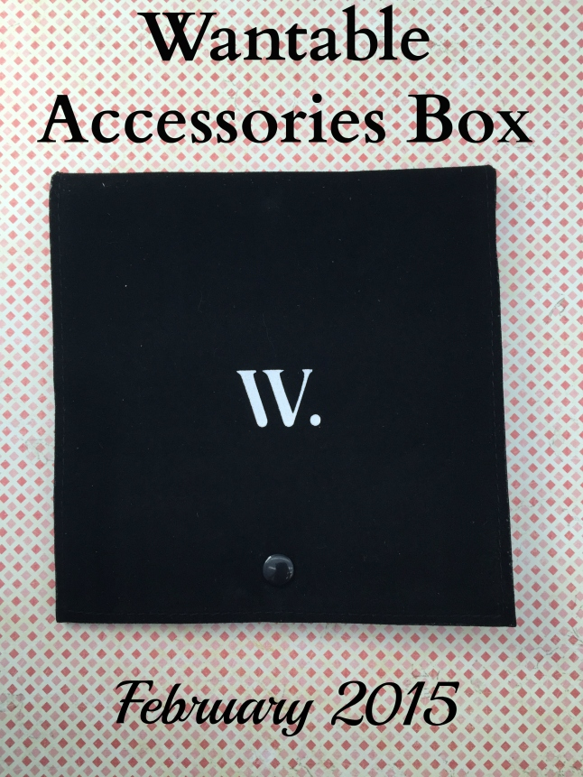 wantable accessories box february