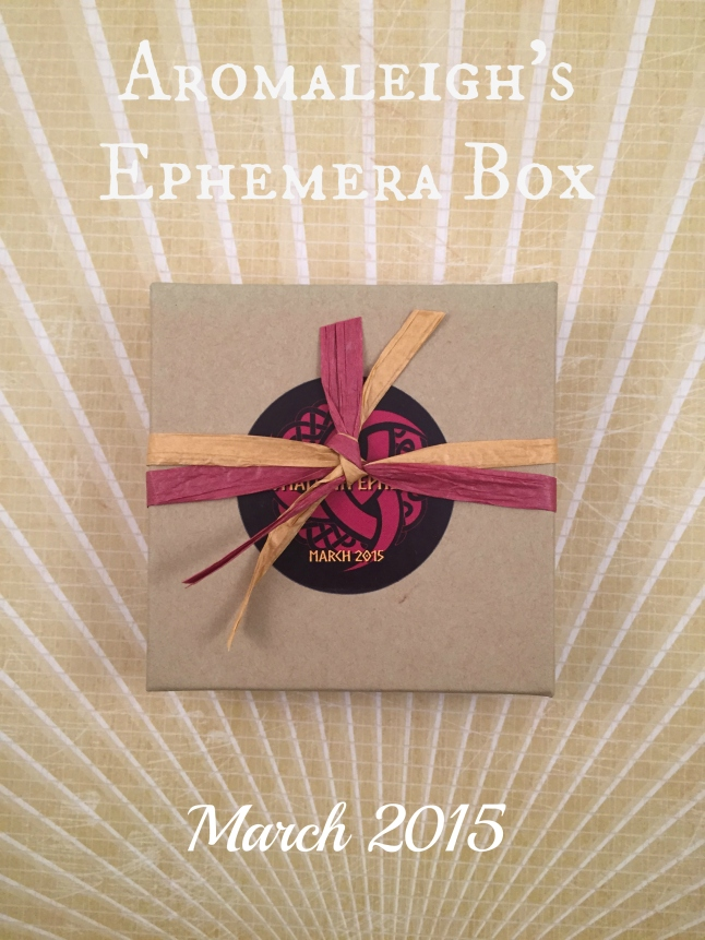 aromaleigh ephemera box february