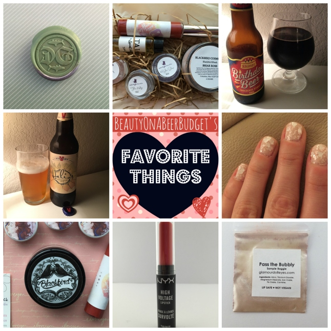 beauty on a beer budget february favorite things