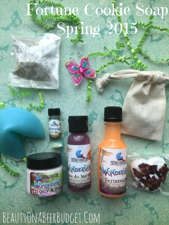 fortune cookie soap spring 2015 box
