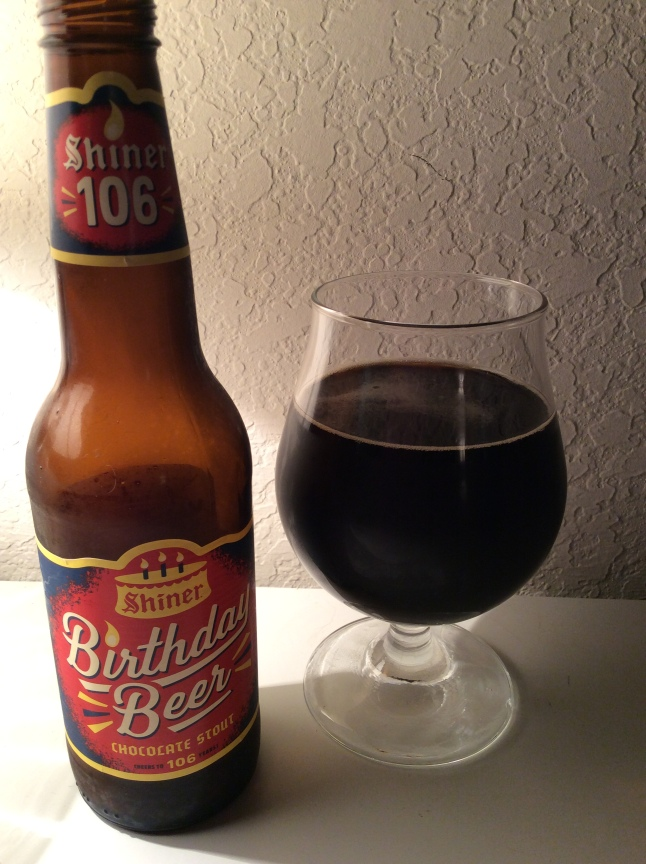 shiner birthday beer stout