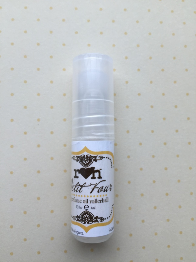 rainbow honey petit four perfume oil rollerball
