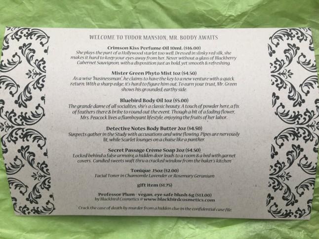 Black Violet info card 1