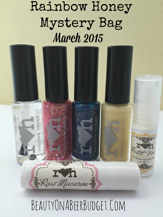 rainbow honey march mystery bag 2015