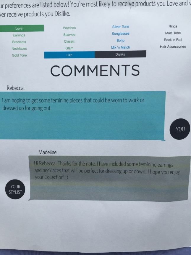 Wantable Info Card Likes and Dislikes